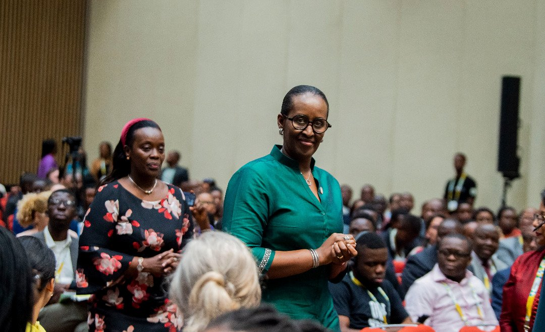 Believe and Act like you are our most valuable asset - Mrs Kagame